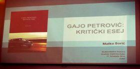 Promocija knjige o Gaji Petroviću